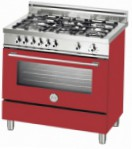 BERTAZZONI X90 5 GEV RO Kitchen Stove \ Characteristics, Photo
