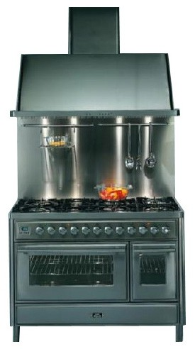 ILVE MT-120F-VG Green Kitchen Stove Photo, Characteristics