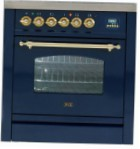 ILVE PN-70-MP Blue Kitchen Stove \ Characteristics, Photo