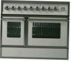 ILVE QDC-90W-MP Antique white Kitchen Stove \ Characteristics, Photo
