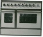 ILVE QDC-90RW-MP Antique white Kitchen Stove \ Characteristics, Photo