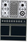 ILVE QDC-90B-MP Matt Kitchen Stove \ Characteristics, Photo