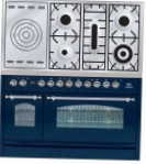 ILVE PN-120S-VG Blue Kitchen Stove \ Characteristics, Photo