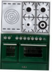 ILVE MTD-100SD-MP Green Kitchen Stove \ Characteristics, Photo