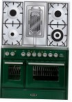 ILVE MTD-100RD-MP Green Kitchen Stove \ Characteristics, Photo