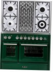 ILVE MTD-100BD-MP Green Kitchen Stove \ Characteristics, Photo