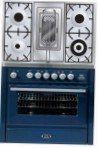 ILVE MT-90RD-MP Blue Kitchen Stove \ Characteristics, Photo