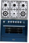 ILVE MT-906D-MP Blue Kitchen Stove \ Characteristics, Photo