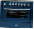 ILVE MT-906-MP Blue Kitchen Stove \ Characteristics, Photo
