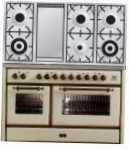 ILVE MS-120FD-MP Antique white Kitchen Stove \ Characteristics, Photo