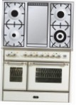 ILVE MD-100FD-MP White Kitchen Stove \ Characteristics, Photo