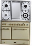 ILVE MCD-100FD-MP Antique white Kitchen Stove \ Characteristics, Photo