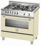 BERTAZZONI X90 5 GEV CR Kitchen Stove \ Characteristics, Photo