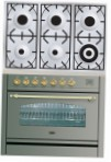 ILVE PN-906-VG Stainless-Steel Kitchen Stove \ Characteristics, Photo