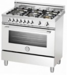 BERTAZZONI X90 6 GEV BI Kitchen Stove \ Characteristics, Photo