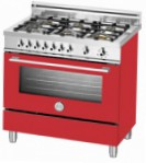 BERTAZZONI X90 6 GEV RO Kitchen Stove \ Characteristics, Photo