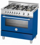 BERTAZZONI X90 6 GEV BL Kitchen Stove \ Characteristics, Photo