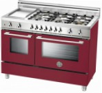BERTAZZONI X122 6G MFE VI Kitchen Stove \ Characteristics, Photo