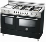 BERTAZZONI X122 6G MFE NE Kitchen Stove \ Characteristics, Photo