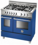 BERTAZZONI W90 5 GEV BL Kitchen Stove \ Characteristics, Photo