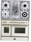 ILVE MD-100RD-MP Antique white Kitchen Stove \ Characteristics, Photo
