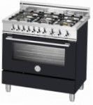 BERTAZZONI X90 6 DUAL NE Kitchen Stove \ Characteristics, Photo