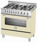 BERTAZZONI X90 6 DUAL CR Kitchen Stove \ Characteristics, Photo
