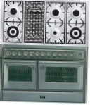 ILVE MTS-120BD-MP Stainless-Steel Kitchen Stove \ Characteristics, Photo