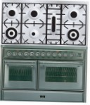 ILVE MTS-1207D-MP Stainless-Steel Kitchen Stove \ Characteristics, Photo