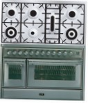 ILVE MT-1207D-MP Stainless-Steel Kitchen Stove \ Characteristics, Photo
