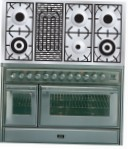 ILVE MT-120BD-MP Stainless-Steel Kitchen Stove \ Characteristics, Photo