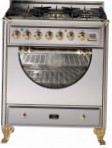 ILVE MCA-76D-MP Stainless-Steel Kitchen Stove \ Characteristics, Photo