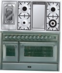 ILVE MT-120FRD-MP Stainless-Steel Kitchen Stove \ Characteristics, Photo