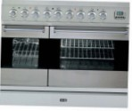 ILVE PDF-90-VG Stainless-Steel Kitchen Stove \ Characteristics, Photo