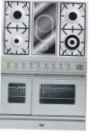 ILVE PDW-90V-VG Stainless-Steel Kitchen Stove \ Characteristics, Photo