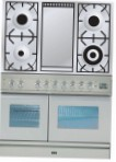 ILVE PDW-100F-VG Stainless-Steel Kitchen Stove \ Characteristics, Photo