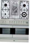 ILVE PDF-100R-MP Stainless-Steel Kitchen Stove \ Characteristics, Photo