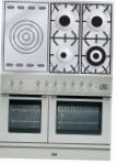 ILVE PDL-100S-VG Stainless-Steel Kitchen Stove \ Characteristics, Photo