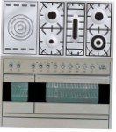 ILVE PF-120S-VG Stainless-Steel Kitchen Stove \ Characteristics, Photo