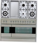 ILVE PF-120F-VG Stainless-Steel Kitchen Stove \ Characteristics, Photo