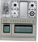 ILVE PL-120FR-MP Stainless-Steel Kitchen Stove \ Characteristics, Photo