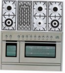 ILVE PL-120B-VG Stainless-Steel Kitchen Stove \ Characteristics, Photo