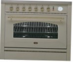 ILVE P-90N-MP Antique white Kitchen Stove \ Characteristics, Photo