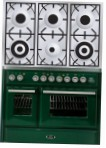 ILVE MTD-1006D-VG Green Kitchen Stove \ Characteristics, Photo