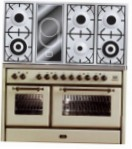 ILVE MS-120VD-VG Antique white Kitchen Stove \ Characteristics, Photo