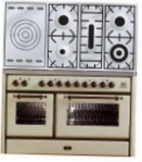 ILVE MS-120SD-VG Antique white Kitchen Stove \ Characteristics, Photo