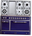 ILVE MC-120FD-VG Blue Kitchen Stove \ Characteristics, Photo