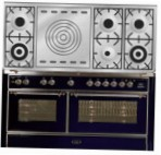 ILVE M-150SD-VG Blue Kitchen Stove \ Characteristics, Photo