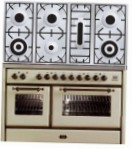 ILVE MS-1207D-VG Antique white Kitchen Stove \ Characteristics, Photo