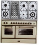 ILVE MS-120BD-VG Antique white Kitchen Stove \ Characteristics, Photo